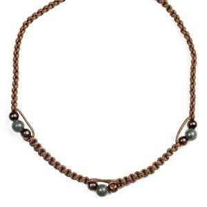 Vitality - Brown Necklace